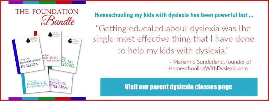 Parent Dyslexia Class