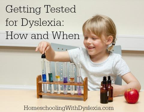 dyslexia testing