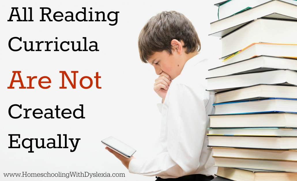All Reading Curricula Are Not Created Equally