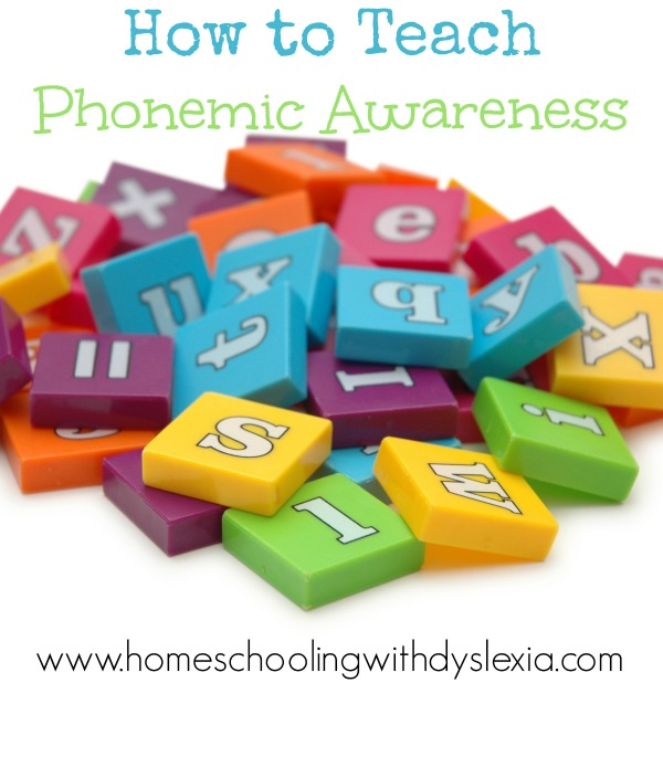 How to Teach Phonemic Awareness