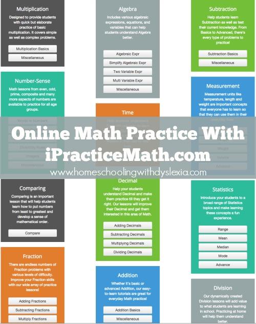 Online Math Practice iPracticeMath