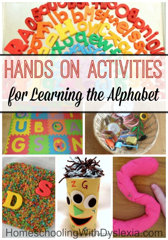 Hands On Activities for Learning the Alphabet