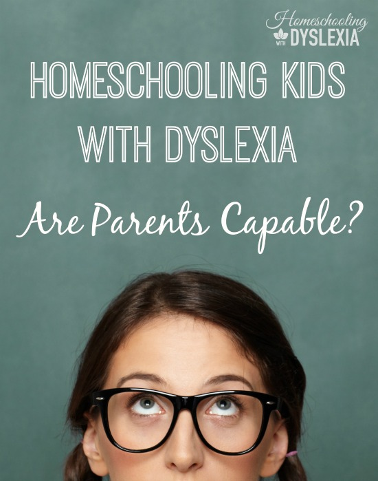 Homeschooling kids with dyslexia, can parents do it? Teaching a child with dyslexia to read, write and spell is a challenge, yes, but with the individualized attention that is inherent in the homeschool environment, not only is it possible, it is actually the best path you can take.