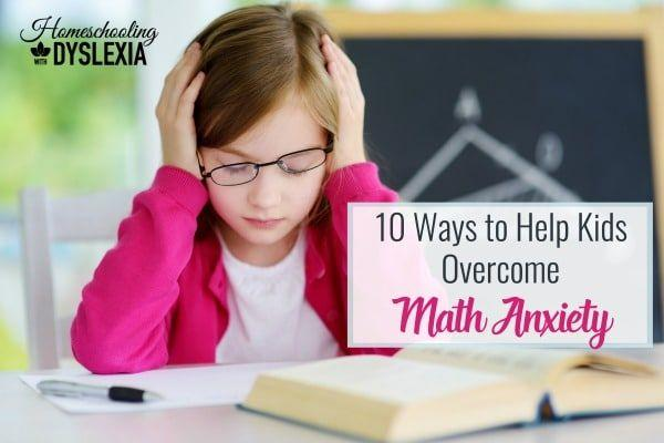 Overcome Math Anxiety