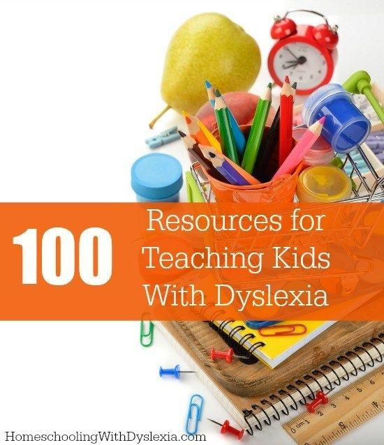 Have a child with dyslexia? We've compiled 100 of the best, evidence-based resources for those who teach students with dyslexia.