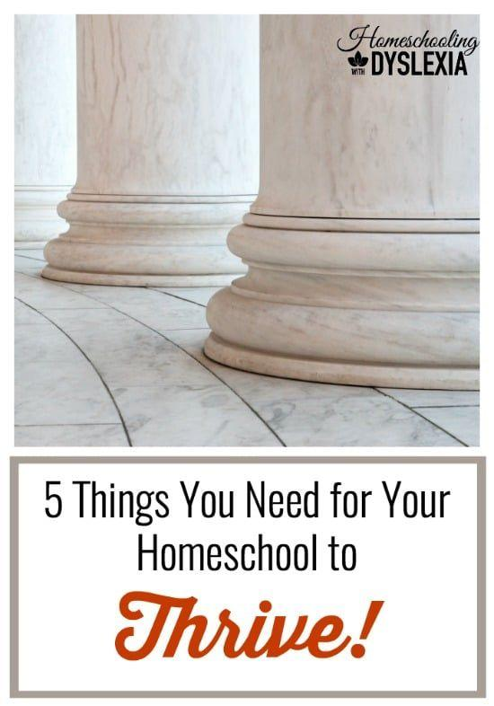The 5 Pillars of a Thriving Homeschool