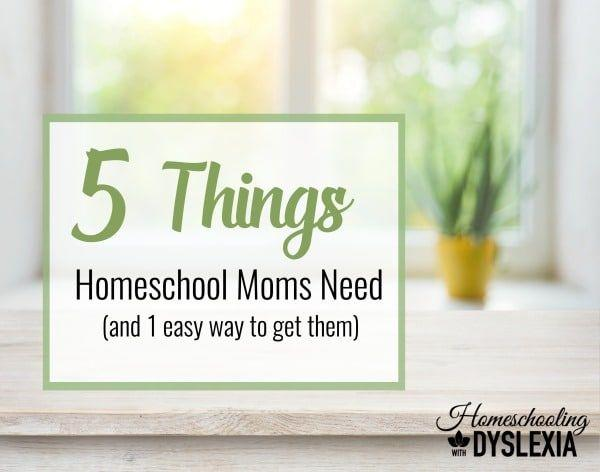5 things every homeschool mom needs homeschooling with for Home need things