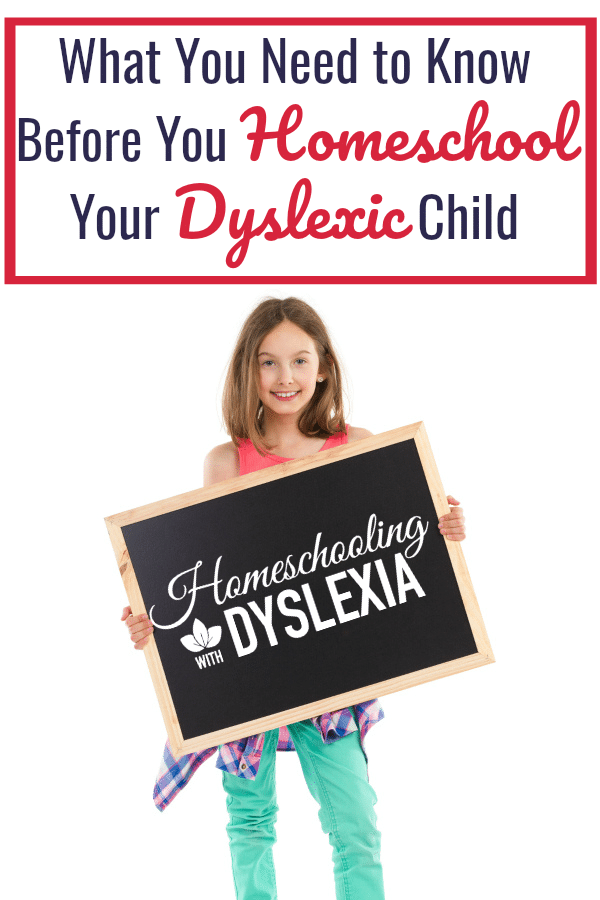 There are memories of my early years of homeschooling that I wish I could forget. They were the days that I misunderstood learning, dyslexia, ADD and the beautiful freedom that I had in homeschooling. Before you homeschool kids with dyslexia there are a few things you need to know.