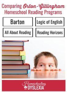 Orton Gillingham reading programs