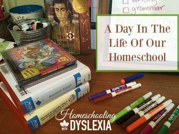 A Day in the Life of our Homeschool