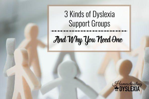 Kinds of Dyslexia Support Groups