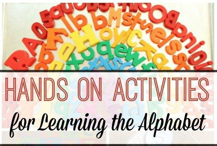 Hands On Activities for Teaching the Alphabet