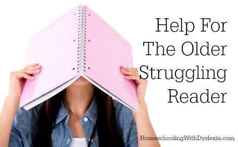 Help For The Older Struggling Reader