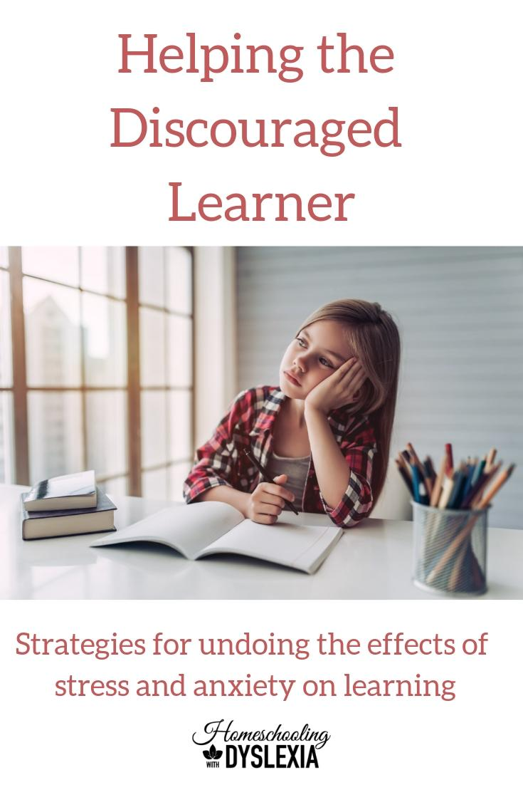 Helping the Discouraged Learner