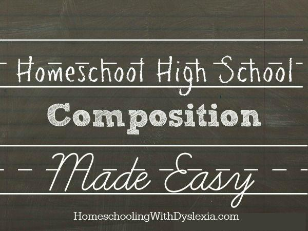 homeschool high school composition made easy homeschooling  homeschool high school composition made easy jpg