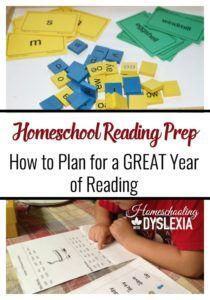 Homeschool Reading Prep