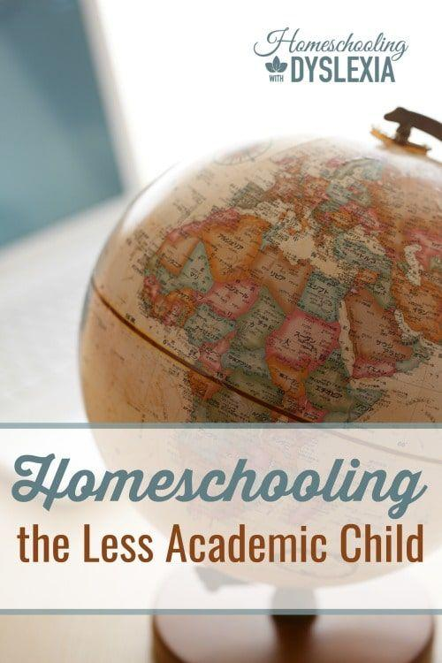 Homeschooling the Less Academic Child-Does a child need to be 'academic' to succeed in school? We are going to take a look at what it looks like to homeschool a child struggling in academics, and how to encourage a love of learning anyway.