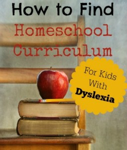 How to Find Homeschool Curriculum for Kids With Dyslexia small