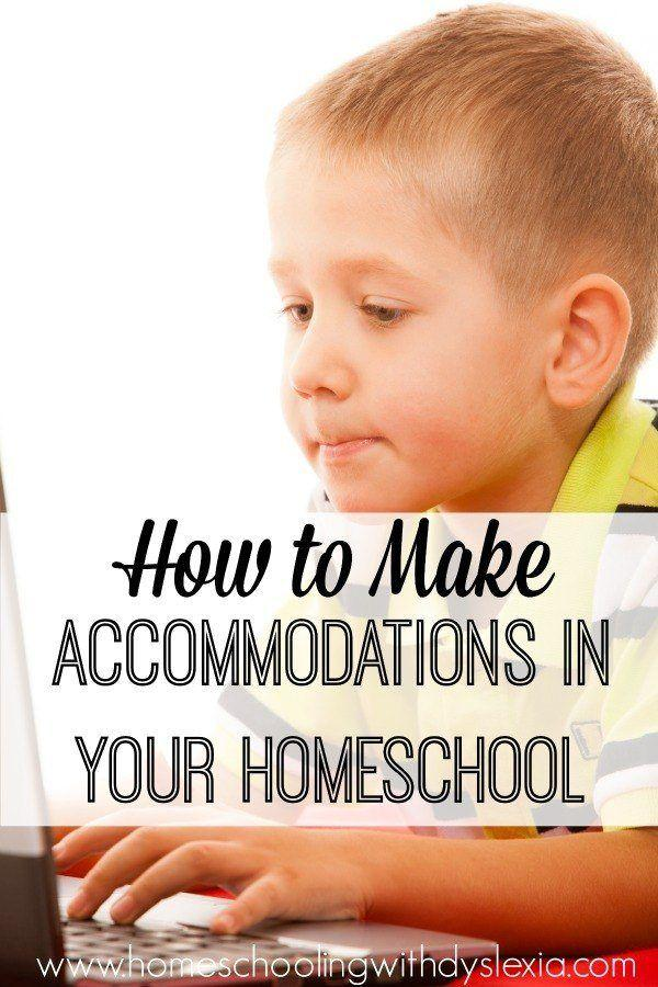 How to Make Accommodations in Your Homeschool