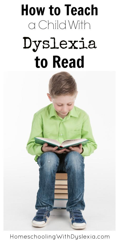 How to Teach a Child With Dyslexia to Read sm
