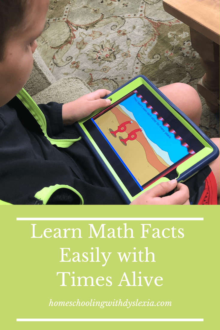 Learn Math Facts Easily With Times Alive
