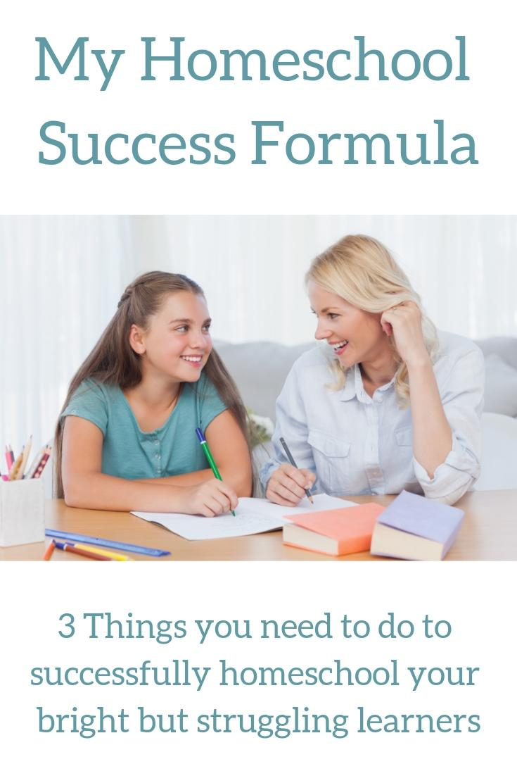 My Homeschool Success Formula