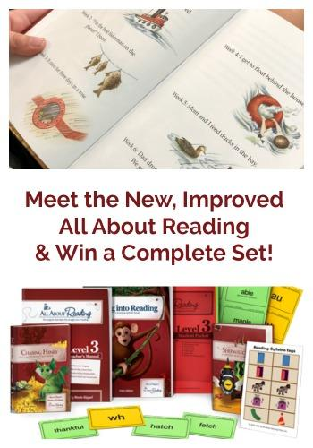 Our family has used and loved the All About Reading reading program for years. They just rolled out a new improved edition that I know you're going to love!