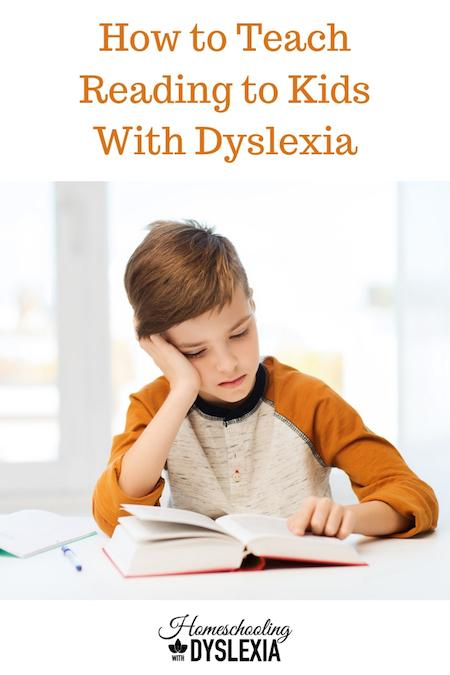 My goal is to show parents how to teach kids with dyslexia to read.  There is a lot to know about teaching kids with dyslexia to read. Let's break it down step by step.