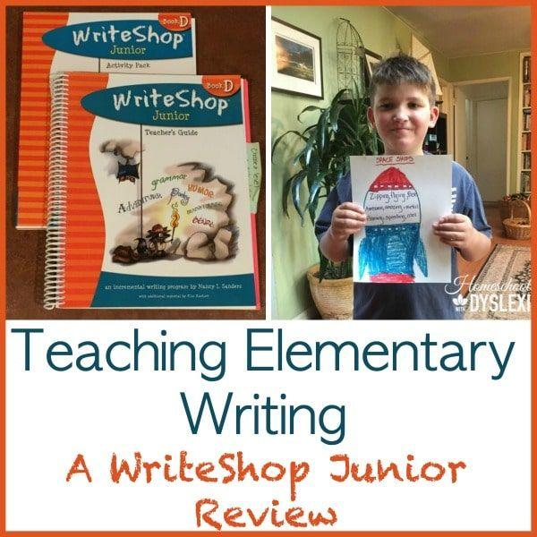 Teaching Elementary Writing A WriteShop Junior Review