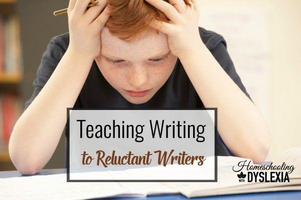 Teaching Writing to the Reluctant Writer