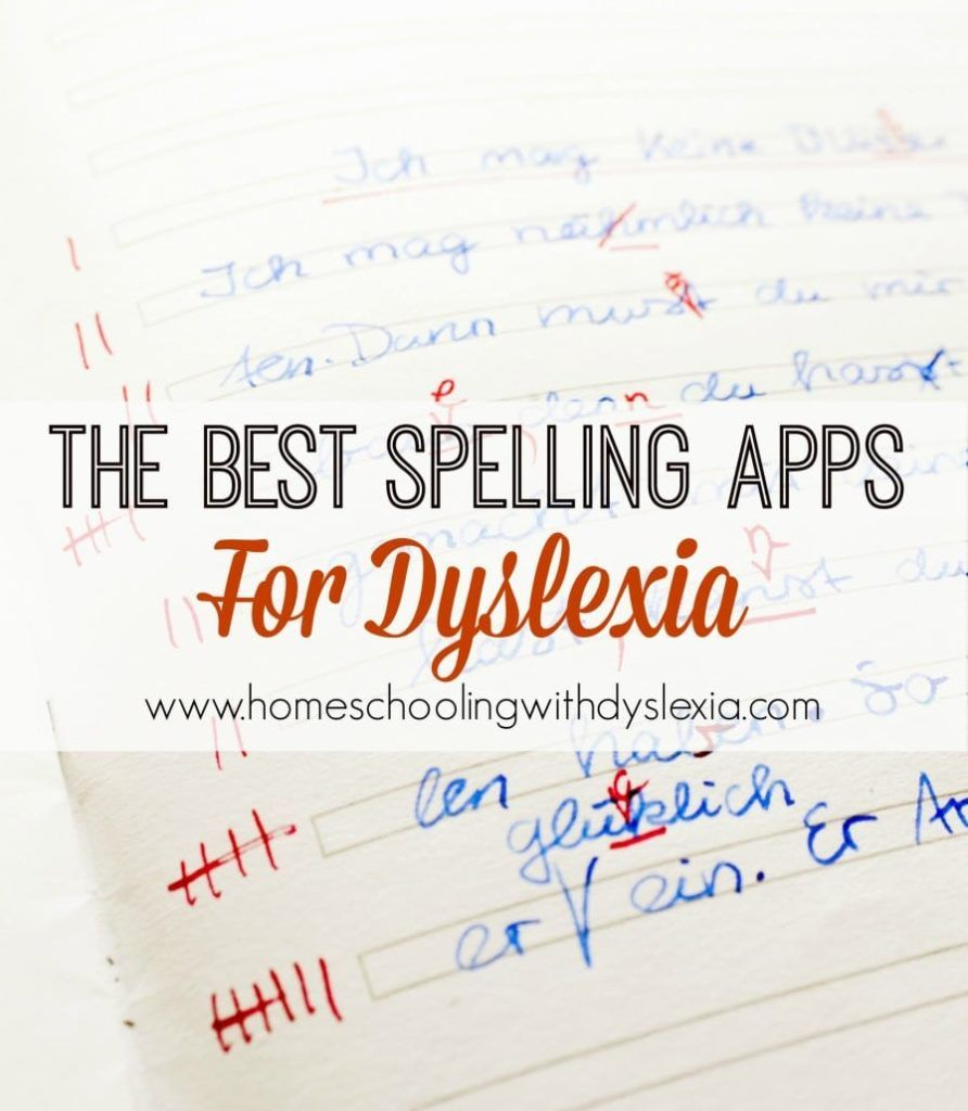 Spelling is often a lifelong struggle for people with dyslexia. These spelling apps are great choices for those struggling.