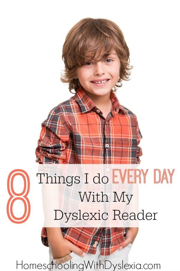 These are the daily habits that help my dyslexic reader to be more successful.