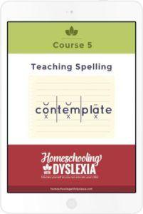 teaching spelling dyslexia