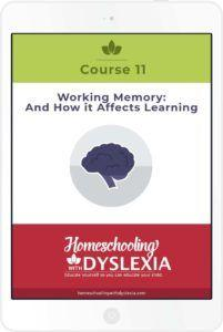 working memory and how it affects learning