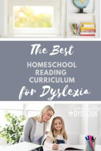 Best homeschool reading curriculum dyslexa