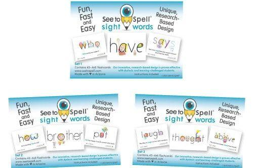 Sight Words Giveaway